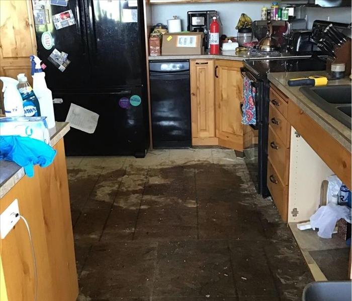before water damage
