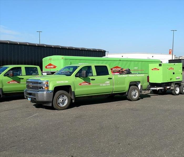 SERVPRO of Minot Headed to a flood event